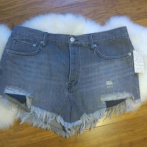 NWT Free people sulphor black shorts